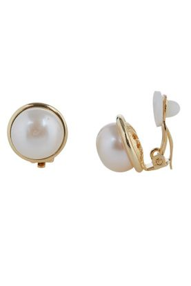 Gold Surround Clip-on Earrings