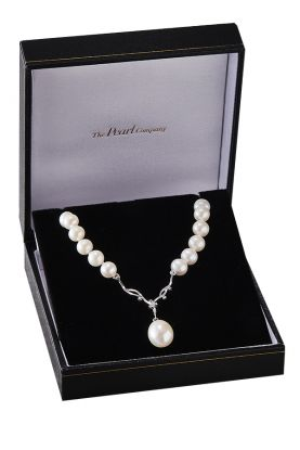 Sapphire & Pearl Necklace