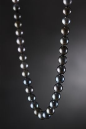 Multi-colour Tahitian Pearl Necklace