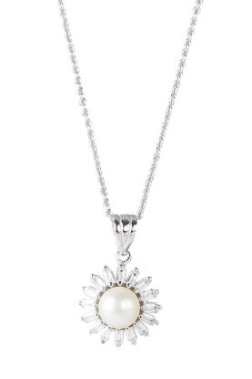 Sparkle Star Pearl Pendant