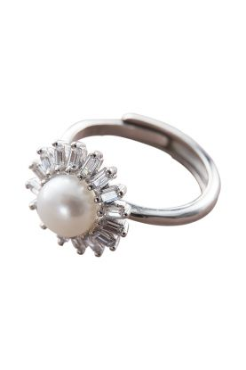 Sparkle Star Pearl Ring