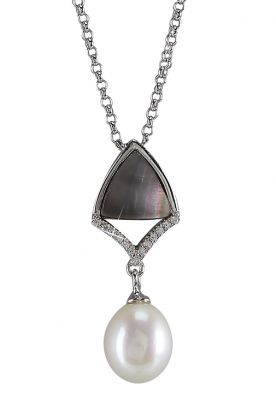 Black Mother of Pearl Pendant