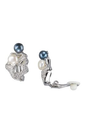 Stylish Pearl Clip-on Earrings