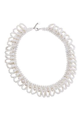 """17"""" Pearl wave Necklace"""