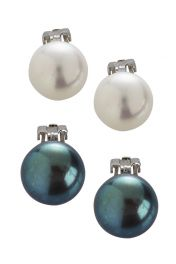 Simple Clip-on Pearl Earrings