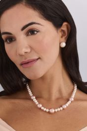 """17"""" Summer Mix Pearl Necklace"""