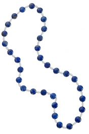 """26"""" Lapis & Seed Pearl Necklace"""